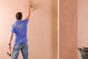 Wall Plastering in Theodon